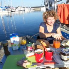 Frühstück in Stege am Stege