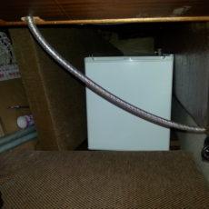 Kühlschrank in der Hundekoje!