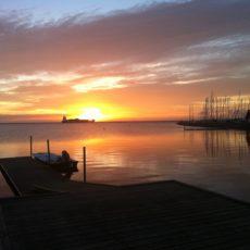 Morgens am Öresund!