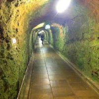 Viele Kilometer Tunnel