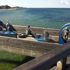 Seebrücke - Wasserspiele für Jung und Alt