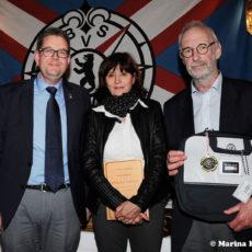 Die Goldmedaillengewinner Christine und Thomas Umpfenbach