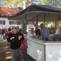 Cafe Sechseck im Biergarten
