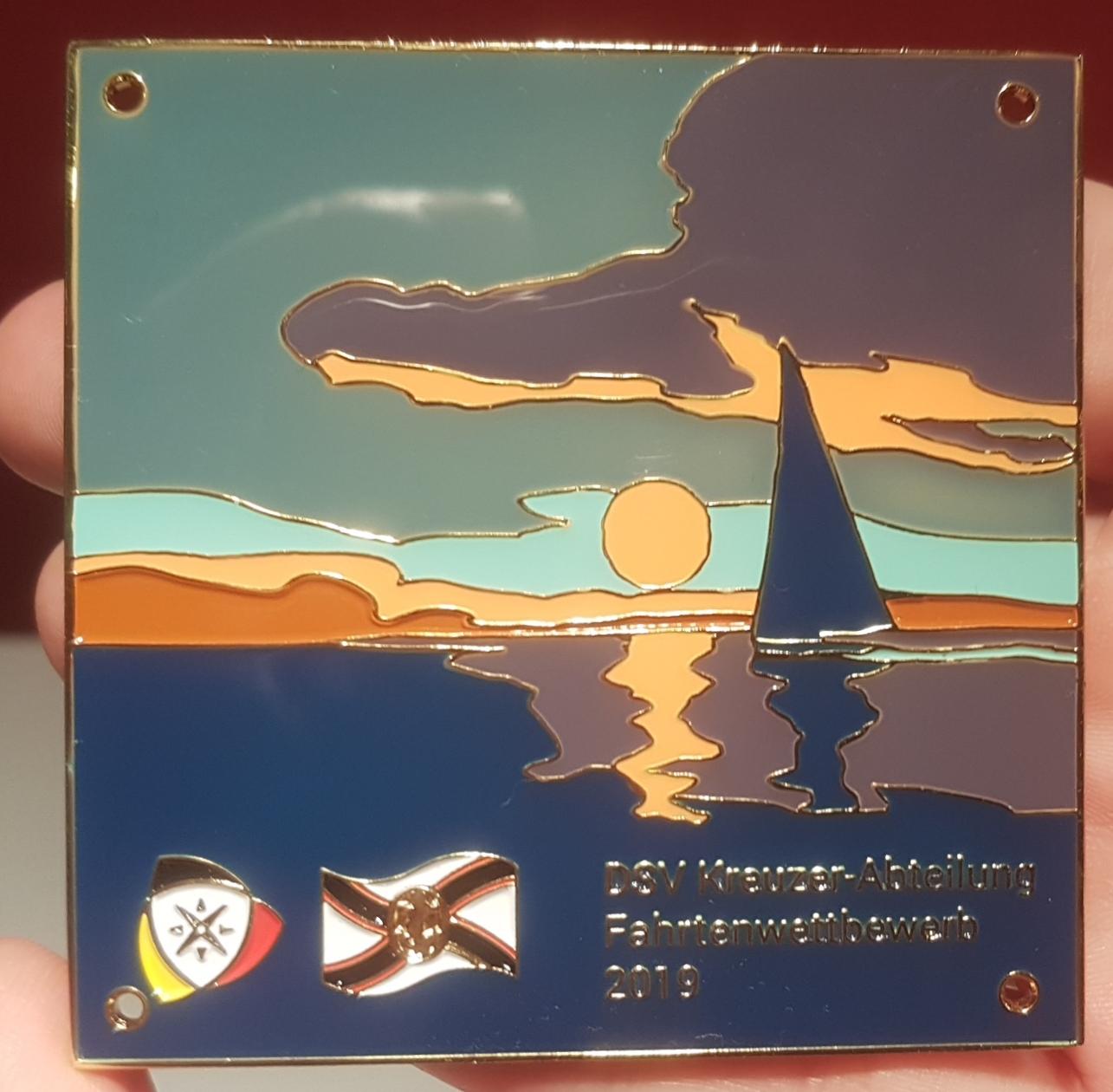 Plakette der DSV Kreuzerabteilung